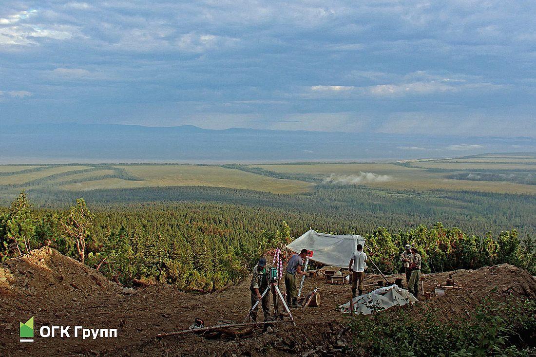 Поисковые работы на месторождении Кутын. Хабаровский край